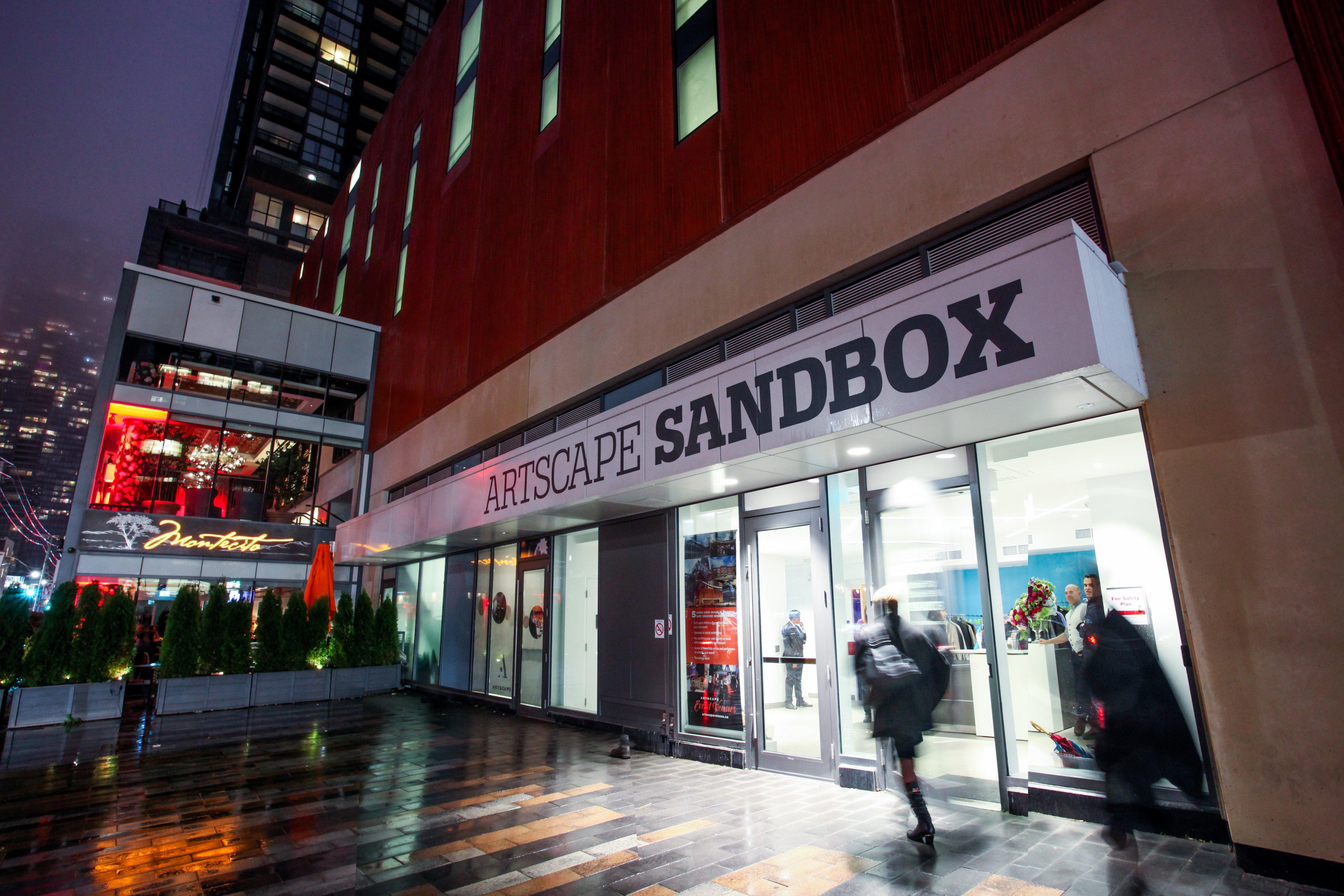Artscape Sandbox Opens