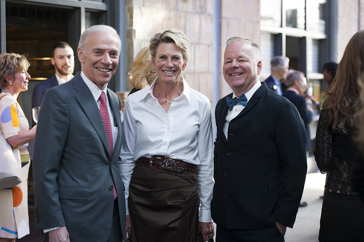 Artscape Board Chair Robert Foster With Artscape Board Member Susan Pigott And Artscape CEO Tim Jones