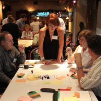 Participants in a Creative Placemaking Lab workshop