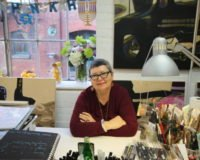 Bianca Guna In Her Studio