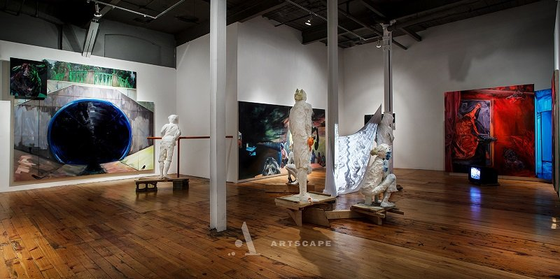 Installation View, Red Head Gallery