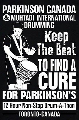 Muhtadi/Parkinson Canada – Drum-A-Thon