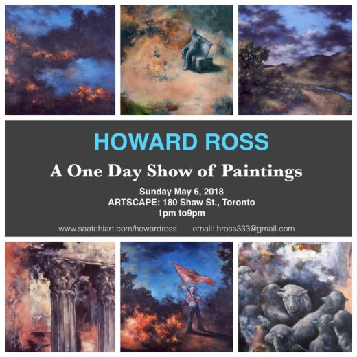 Howard Ross – A One Day Show Of Paintings