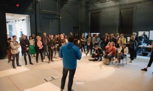 Franco Boni Provides A Tour Of The Theatre Centre
