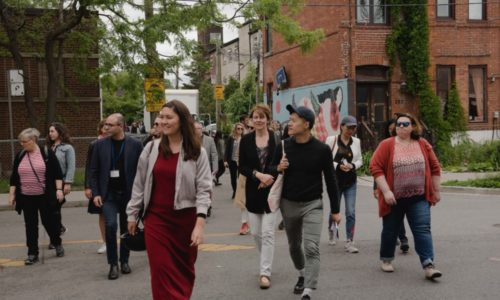 On A Walking Tour Of West Queen West