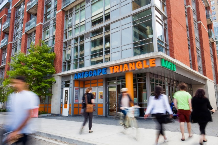 Sublet: Artscape Triangle Lofts