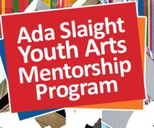Announcing 2019 Ada Slaight Youth Arts Mentorship Program Participants