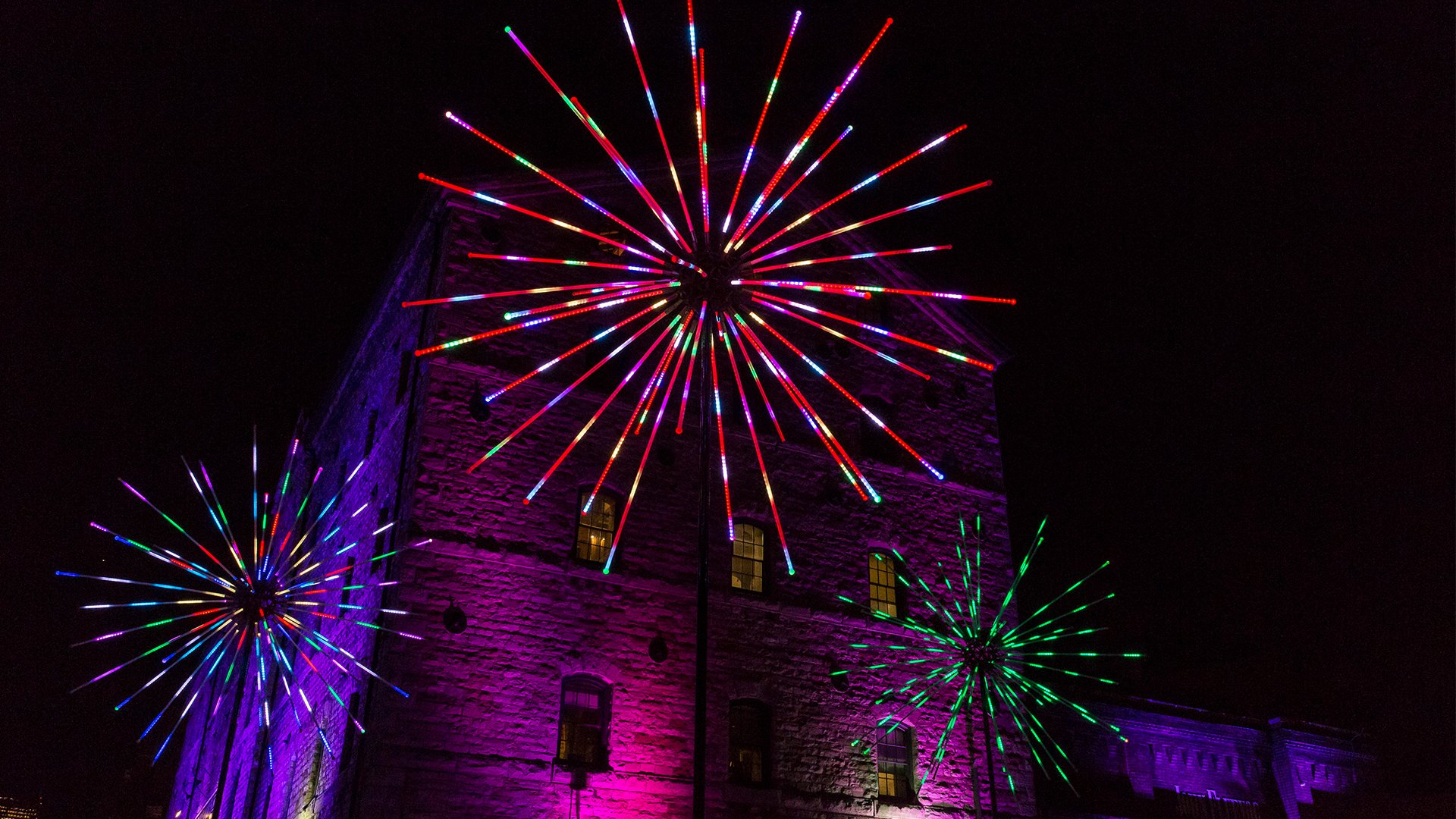 Light Up Your Weekend With Tour Of Toronto Light Festival And Artscape Distillery Studios