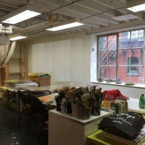 Second Floor Work Studio Space Available In Artscape Distillery Studios