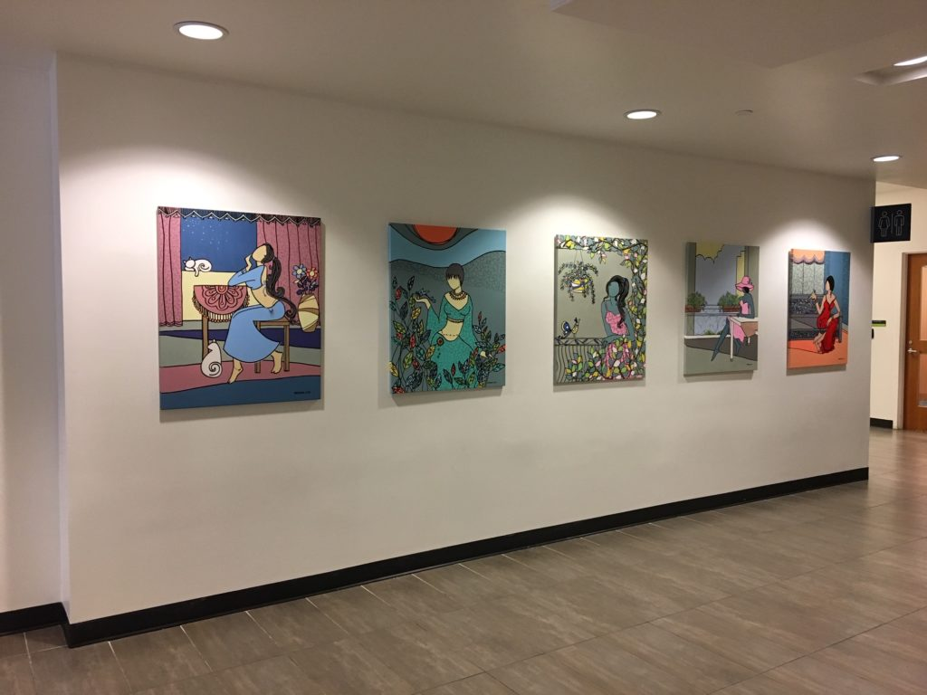 Daniels Spectrum Hallway Galleries