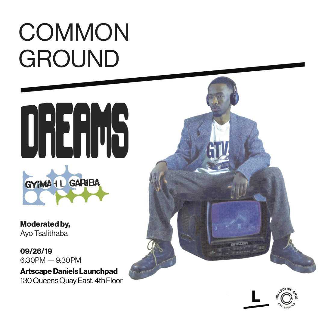 Illustrator, Designer, Animator Gyimah Gariba Talks Manifesting Your Dreams At Common Ground