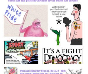 Comic Art, Political Cartoons And The Union Art Service: Group Show At The Propeller Art Gallery, Artscape Triangle Lofts