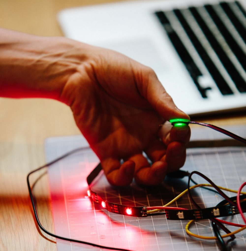 Electrical Engineer And Artist, Tom Hobson Explores Biosensing In New Workshop