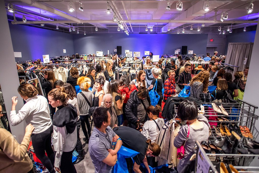 A Frenzy For Toronto Fashion Stylists & Vintage Enthusiasts At Koffler Couture 2019, Artscape Youngplace