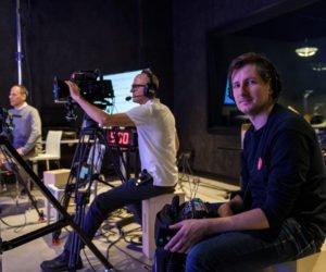 Behind The Scenes Of Unikron's Livestreamed Webcast In The Digital Media Lab's VFX Studio
