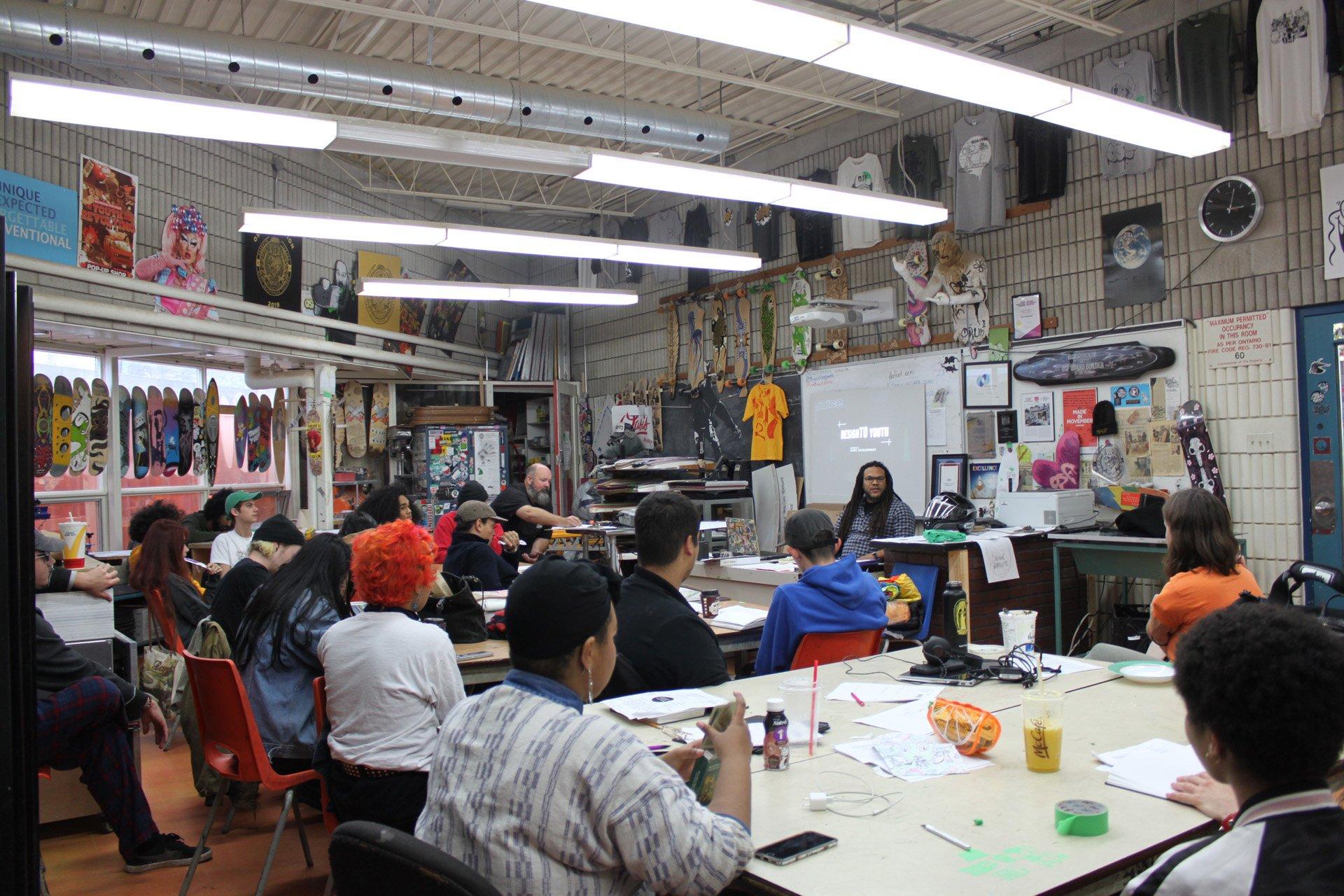 Artscape Wychwood Barns DesignTO Youth Film Screening