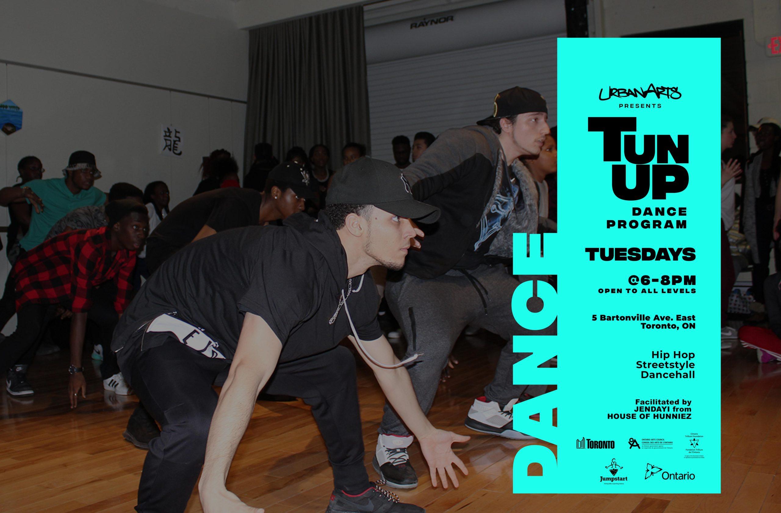 Artscape Weston Common UrbanArts Tun up Dance Program