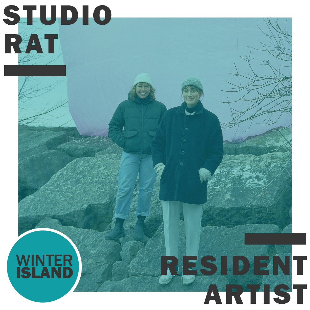 Artscape Gibraltar Point Winter Island Artist in Residence 2020 Studio Rat