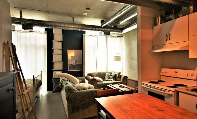 Open Concept Studio Available For Affordable Homeownership At Artscape Triangle Lofts