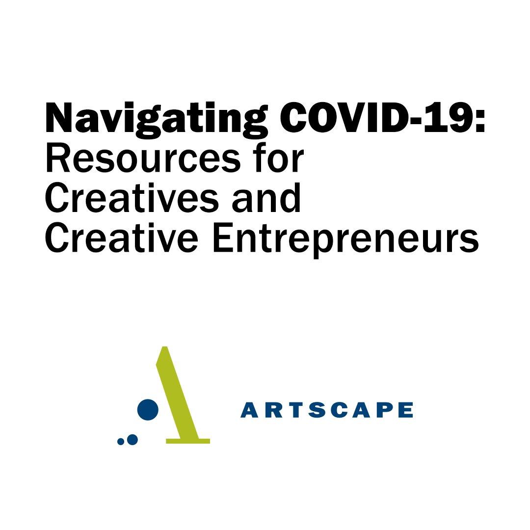 2020.03.23 Artscape COVID 19 Resources Social