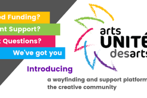 News Release: ArtsUNITE / UNITÉ Des Arts Launches To Help Ontario's Creative Community Access Relief And Supports For Recovery During And Post-COVID-19
