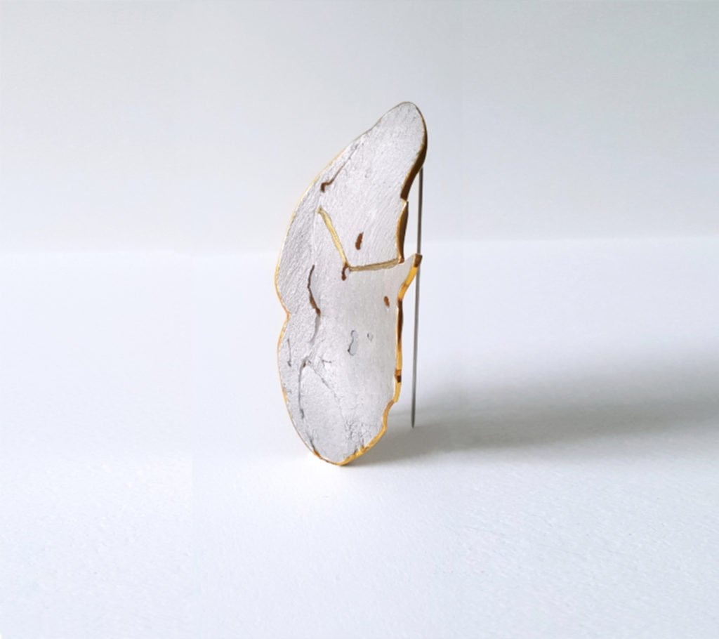 Charlize Nhung Body Negative Space Brooch