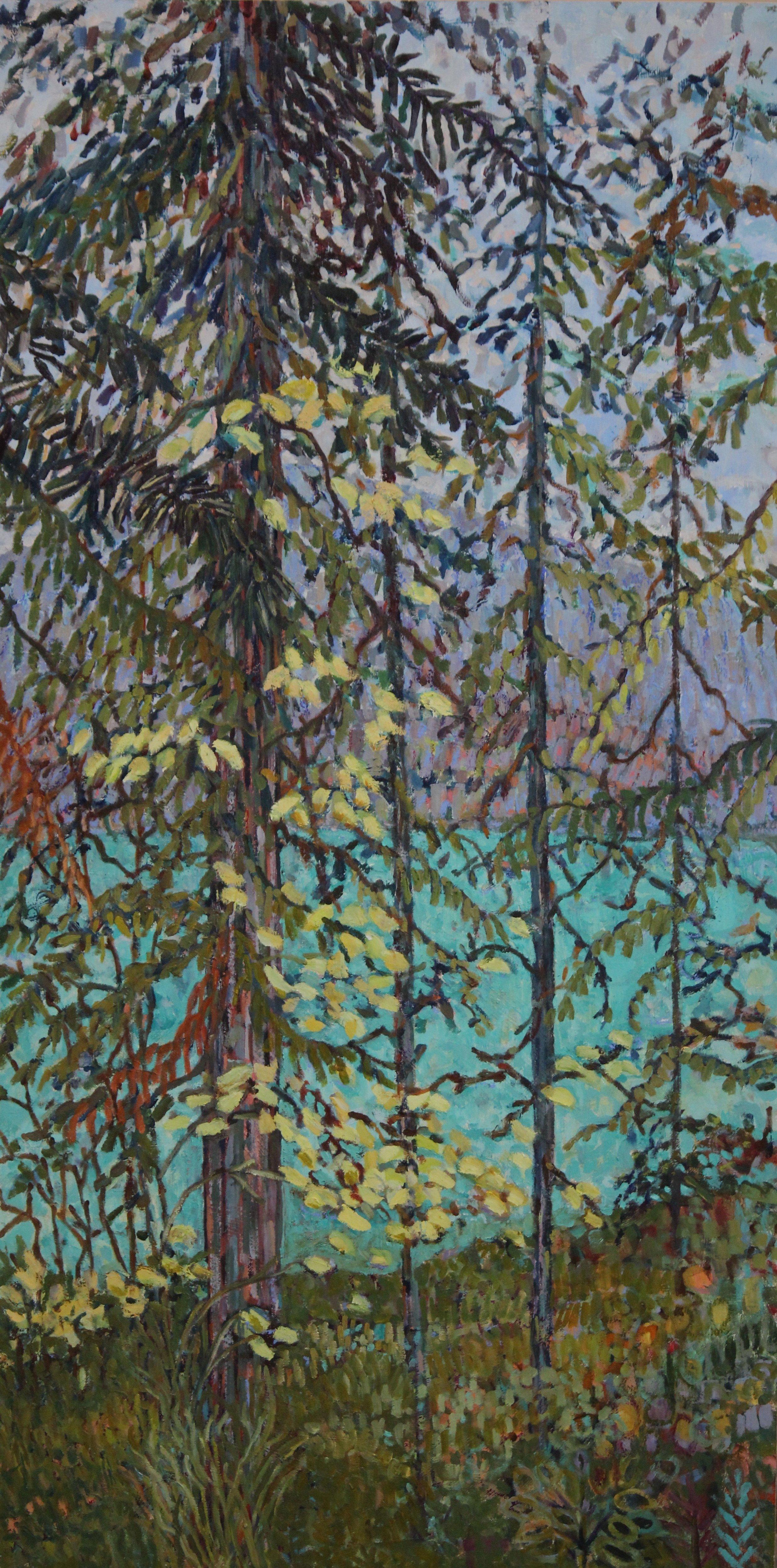 Emerald Lake By Rea Kelly