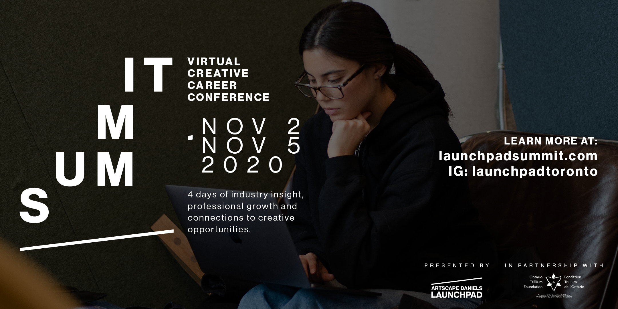 Launchpad SUMMIT Returns With A 4-day Pay-what-you-can Virtual Creative Career Conference