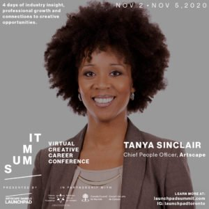 Launchpad Summit features Artscape Tanya Sinclair