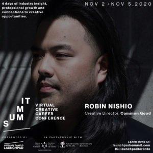 Launchpad SUMMIT features Robin Nishio