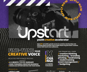 Apply For The New UpstART Youth Creative Accelerator At Artscape Weston Common!