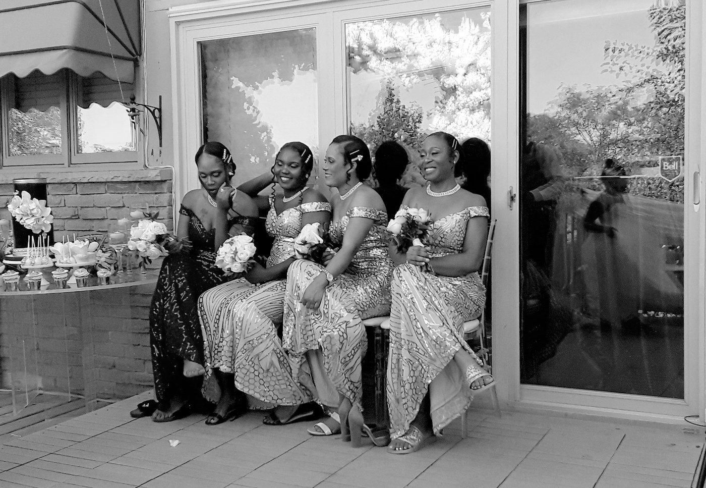 Ann Fischer Bridesmaids Break