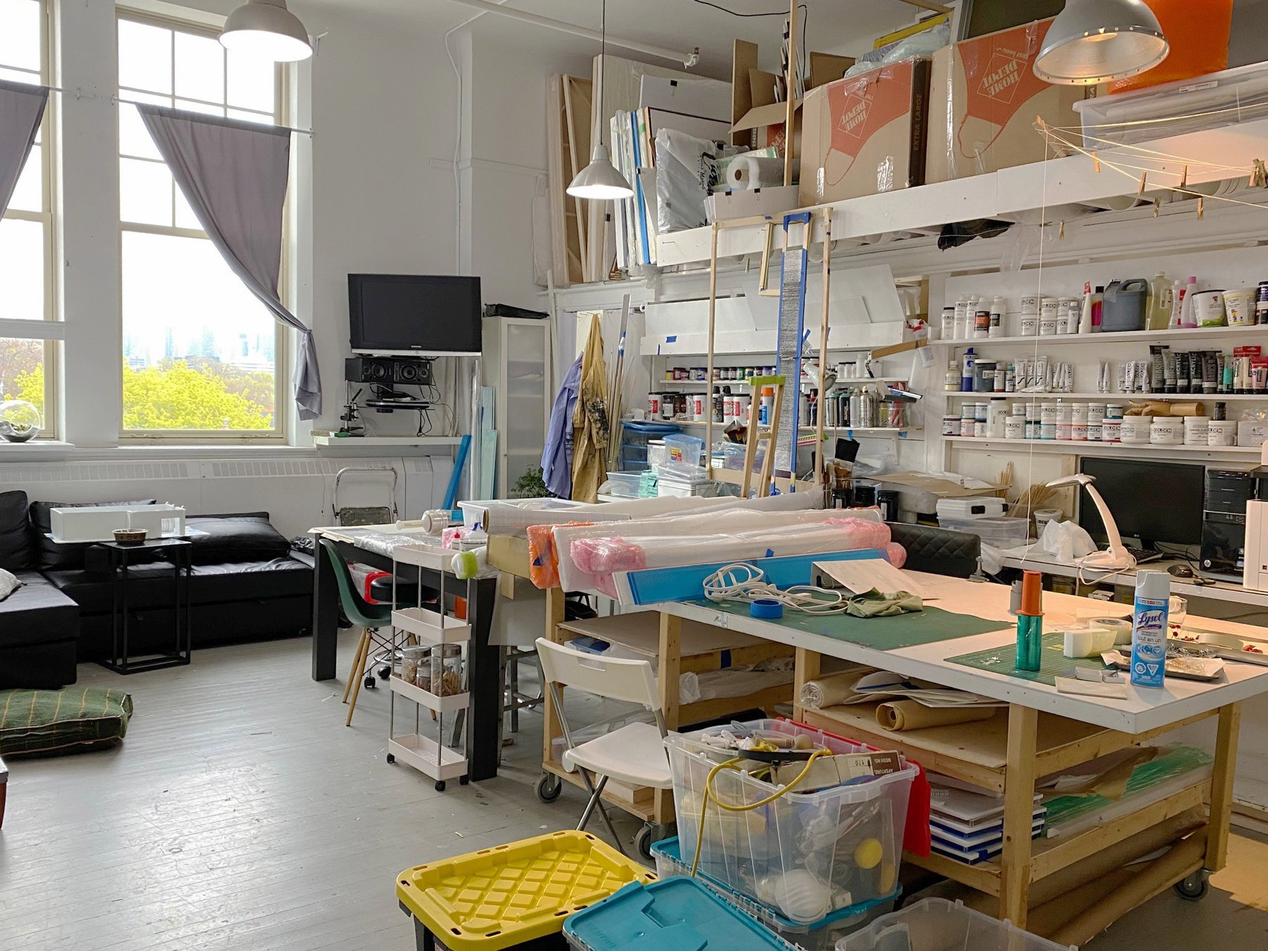 Bright Work-only Studio Available At Artscape Youngplace!
